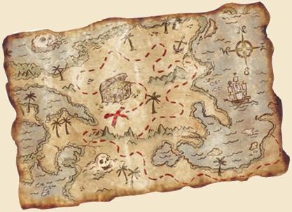 A kincses térkép