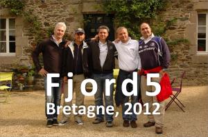 Fjord5 csapatkép 2012