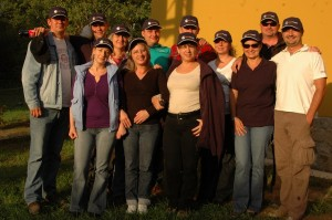 Erste Sales csapatkép 2012.10.04-05